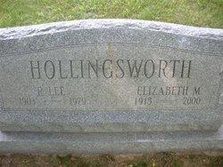 Elizabeth <i>Morell</i> Hollingsworth