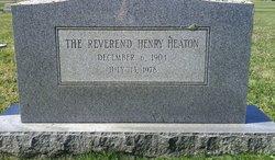 Rev Henry Heaton