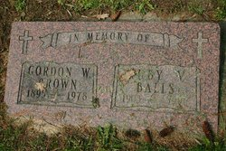 Ruby Victoria <i>Hayball</i> Brown