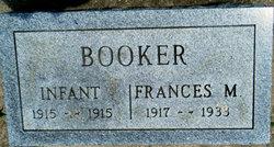 Infant Booker