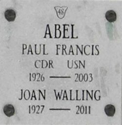 Joan Marie <i>Walling</i> Abel