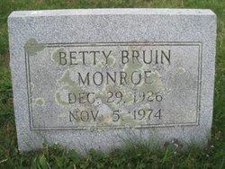 Betty <i>Bruin</i> Monroe