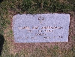 Elmer Ray Ahrendson