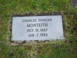 Charles Duncan Monteith