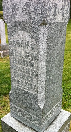 Sarah V. <i>McCord</i> Allen