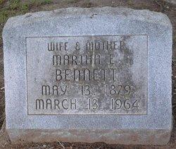 Martha Ellen Tine <i>Sprouse</i> Bennett