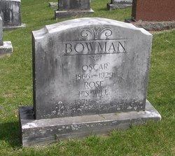 Oscar Bowman
