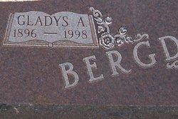 Gladys Adria <i>Jennison</i> Bergdall