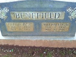 Gertha Burney <i>West</i> Benefield