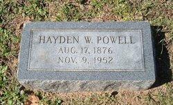 Hayden W Powell