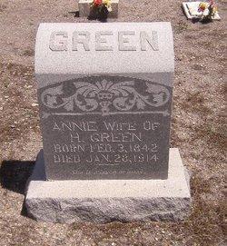 Annie <i>Pace</i> Green
