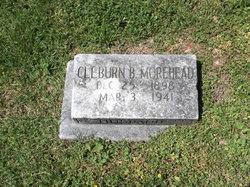 Cleburn B. Morehead