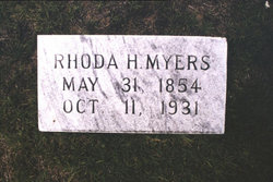 Rhoda J <i>Herlong</i> Myers