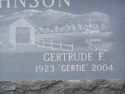 Gertrude F <i>Halpin</i> Johnson