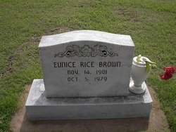 Eunice <i>Bagley</i> Rice Brown