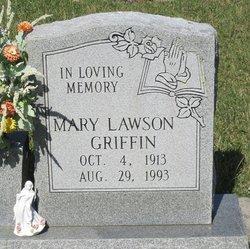 Mary <i>Lawson</i> Griffin