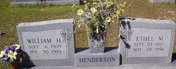 Ethel <i>Walley</i> Henderson
