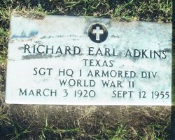 Richard Earl Dick Adkins