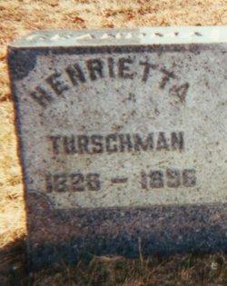 Joanna Henrietta <i>Kohler</i> Turschman