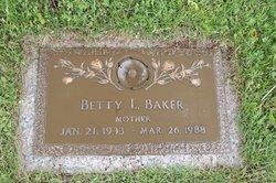 Betty Louise <i>Partain</i> Baker