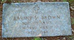 Arvine M Brown
