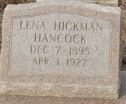 Lena <i>Hickman</i> Hancock