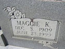 Maggie <i>K</i> Sticker