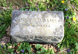 Anna B <i>Norton</i> Adams