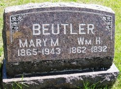 Mary M <i>Parcell</i> Beutler