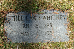 Ethel Lawr Whitney