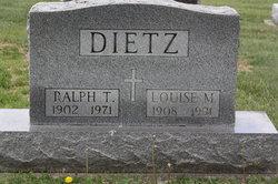 Ralph T Dietz