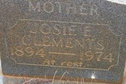 Josephine E Josie Clements