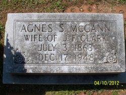 Agnes Storey <i>McCann</i> Clark