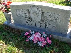Alba D <i>Boles</i> Allen