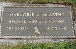 Marjorie Agnes Marge <i>Jones</i> McArthy