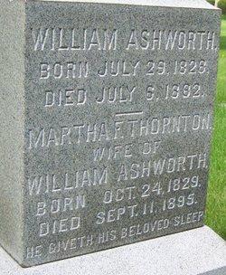 Martha <i>Thornton</i> Ashworth