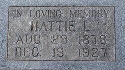 Hattie L Coates