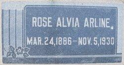 Sarah Jane Rosalvia <i>McBrayer</i> Arline