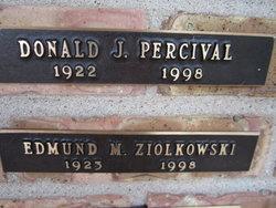 Donald J Percival