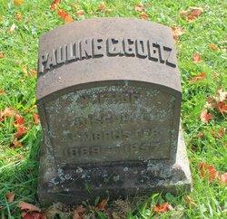 Pauline Catherine <i>Goetz</i> Armbruster