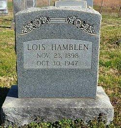 Lois Marie <i>Hooker Miller</i> Hamblen