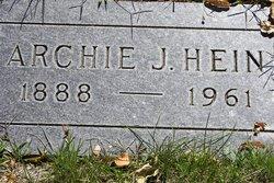 Archibald John Archie Hein