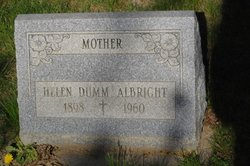 Helen <i>Dumm</i> Albright