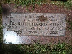 Ruth <i>Harris</i> Allen