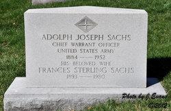 Frances <i>Sterling</i> Sachs