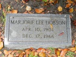Marjorie Lee Dobson