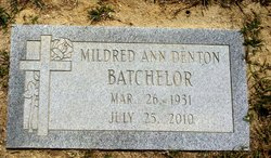 Mildred Ann <i>Denton</i> Batchelor