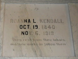 Roanna <i>Lowther</i> Kendall