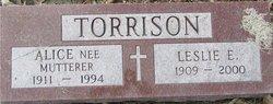 Alice Marie <i>Mutterer</i> Torrison