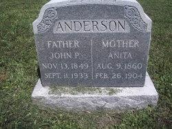 Anita Matilda <i>Olson</i> Anderson